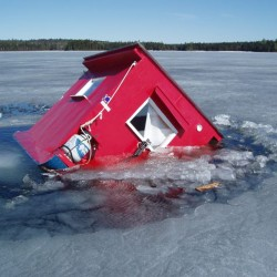 There's 'no safe ice' on Maine lakes, rivers and ponds, officials say