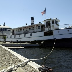 Family's $250,000 donation highlights steamship Katahdin's 100th birthday celebration in Greenville