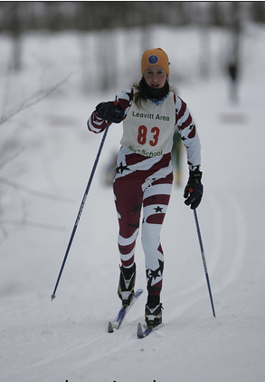 Orono High school skier Lily Koffman made the cut at Farmington's Titcomb Mountain on Saturday, March 3, 2012 to qualify for Eastern High School Nordic Ski Championships.