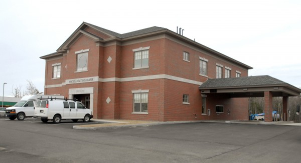 The newest branch of Machias Savings Bank on Wilson Street in Brewer will open on April 2, 2012.