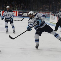 Maine hockey's Spencer Abbott one of three finalists for Hobey Baker Award