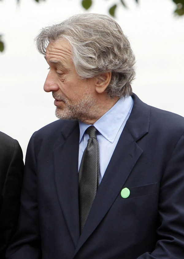 In this Sept. 22, 2011 file photo, actor Robert De Niro is seen in New York. De Niro opened a fundraiser starring Michelle Obama by listing her Republican rivals and jokingly suggesting that America isn't &quotready for a white first lady.&quot Newt Gingrich was not amused. And the Obama campaign says the actor's quip was inappropriate.