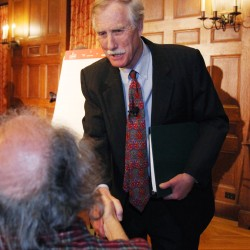 Angus King's full statement on caucus choice