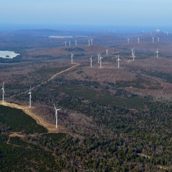 Voters in Washington County town approve wind power moratorium