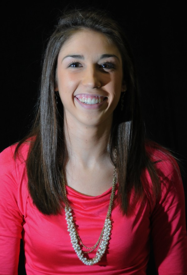 Alexa Coulombe of Catherine McAuley High School, Miss Maine basketball 2012.