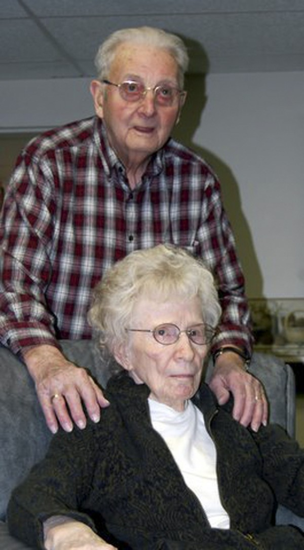 Philip and Marice Chaffee at the Atlantic Rehabilitation and Nursing Center in Calais.