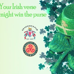 A call to all laddies for a rhyme 'bout St. Paddy's