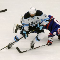 Maine's Diamond relishes return to TD Garden for semifinal against BU