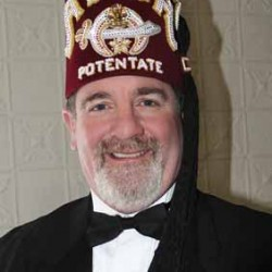 Potentate represents Anah Shrine in Maine and elsewhere