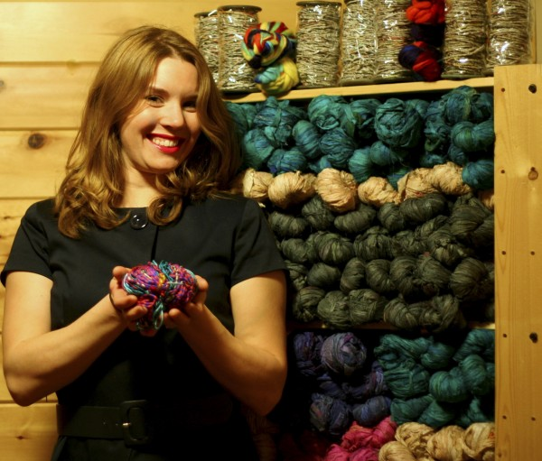 Sebec now home to Internet-based yarn business entrepreneur