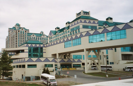 The Foxwoods Resort Casino in Connecticut.