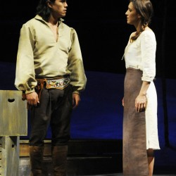 Wabanaki tales, contemporary setting, in debut play