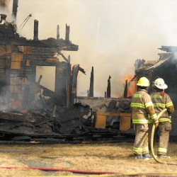 Fire destroys Brooksville home