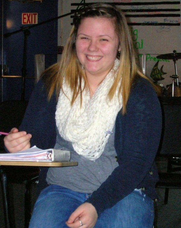 Ashleigh Milligan hones her skills in music class in preparation for an audition for &quotThe Voice.&quot