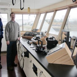 New Vinalhaven ferry christened