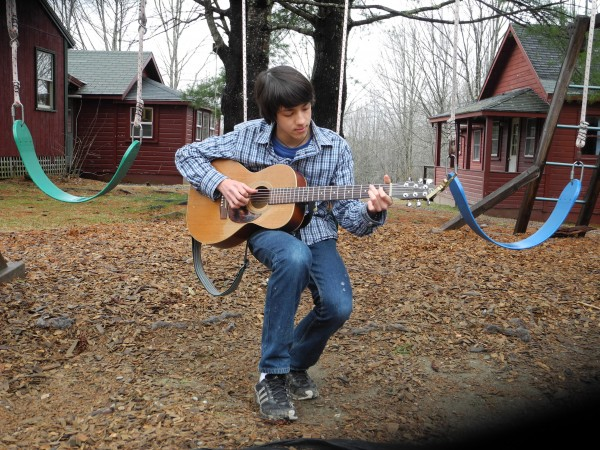 Jamie Oshima, 14, of Whitefield, will give two concerts this weekend as a fundraiser for his class' eighth-grade trip this May. The teenager plays many instruments, including guitar, ukulele, drums and the Irish flute.