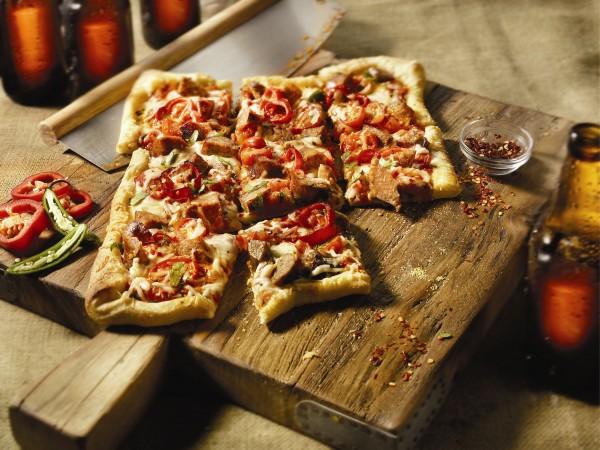 Sausage Diavolo Pizza