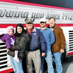 Cyr company celebrates century of service stretching from horses to school buses