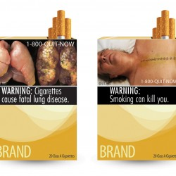 Judge blocks graphic images on cigarette packages
