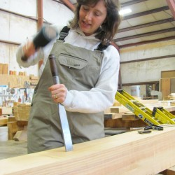 Old craft to be taught anew at wood hewing workshop in Brooks