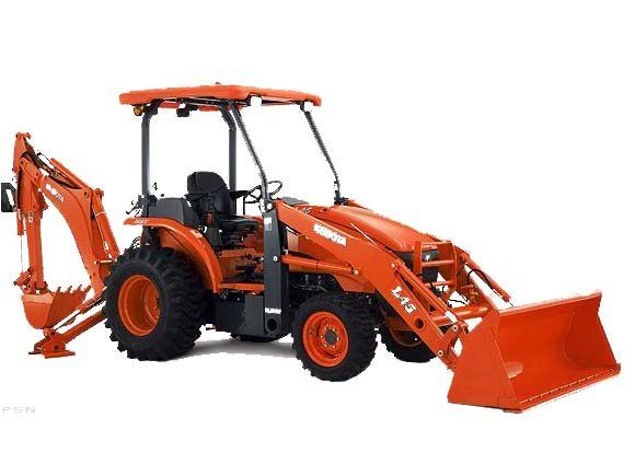 A 2011 Kubota model L45, which has a bucket loader on the front and a backhoe on the rear, was reported stolen from Union Farm Equipment on Route 17 on Monday, March 19, 2012, according to Maine Department of Public Safety spokesman Stephen McCausland.