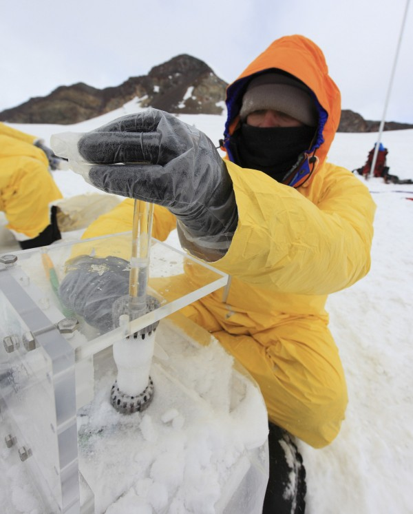 A group of University of Maine climate change scientists recently returned from a trip to Chile, where they climbed a volcano and took ice core samples from a glacier peak.