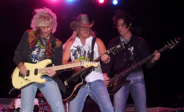 Poison performs at the Moondance Jam in Walker, Minn., in July 2008.