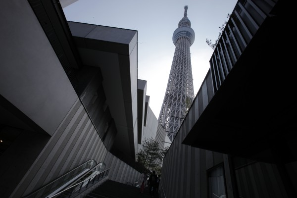 The Tokyo Sky Tree soars in Tokyo on Tuesday, April 17, 2012. The world's tallest freestanding broadcast structure that stands 2,080 feet will open to the public in May.