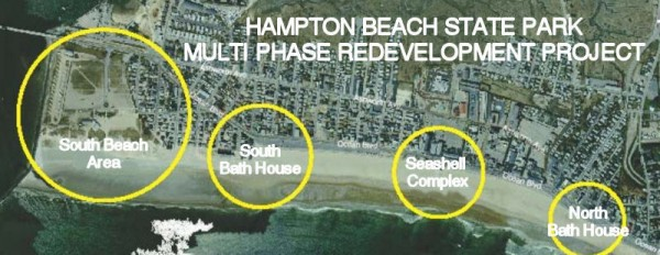 Hampton Beach State Park in New Hampshire has had new facilities such as bathhouses built through a $14.5 million project as part of long-term master plan.