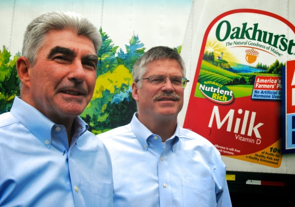 Tom Brigham and John Bennett are set to take over day-to-day operations at Oakhurst Dairy, based in Portland.