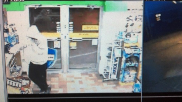 Surveillance image of the Big Apple store on Cottage Road in South Portland.