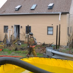 Structure fire levels home in Bucksport; residents all safe