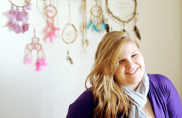 Kendra Sprague, a 17-year-old junior at Lewiston High School, has moved into her own apartment through a Volunteers of America program.