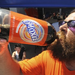 6 vie for crown at Moxie Fest Chugging Challenge