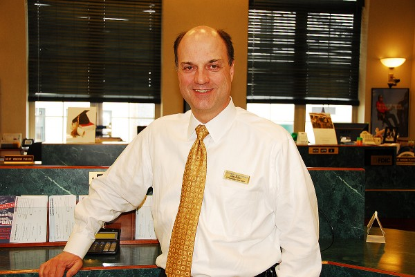 Greg Dufour is the president and CEO of Camden National Bank.