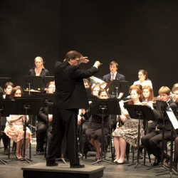 The University of Maine Symphonic Band to perform Chaos Theory 3.0  with electric guitar solo in upcoming concert