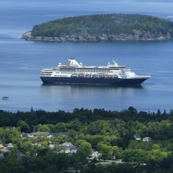 Largest cruise ship this year to stop in Portland on Saturday