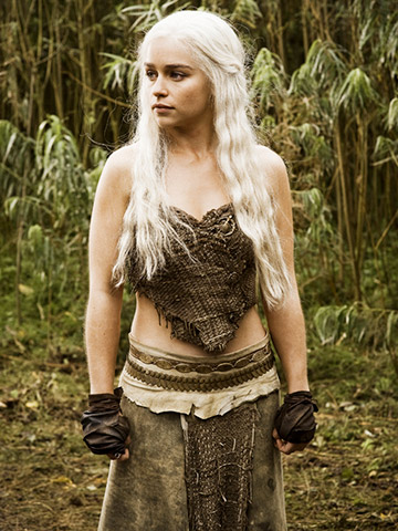 Emilia Clarke in &quotGame of Thrones.&quot