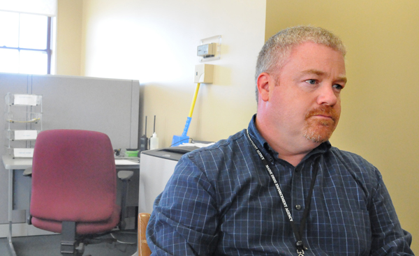 Darrell Crandall, the Maine Drug Enforcement Agency's division commander for northern Maine