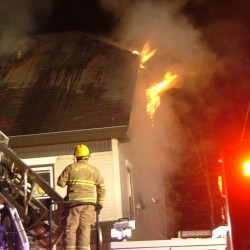 Third arson fire in past week reported in Gorham