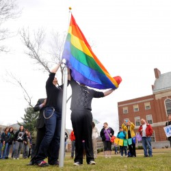 Gay marriage opponents speaking out at UMaine during pride week
