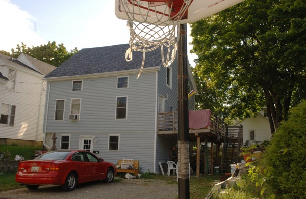 Jennifer and Peter Brown live in this two-story home on Pearl Street in Bangor.