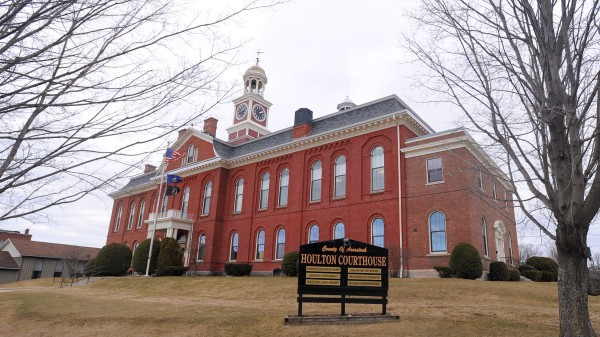 The Aroostook County Superior Court House in Houlton on Thursday, April 5, 2012.