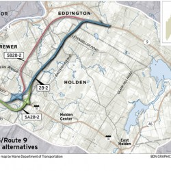 Eddington leaders upset over lack of Interstate 395-Route 9 connector info