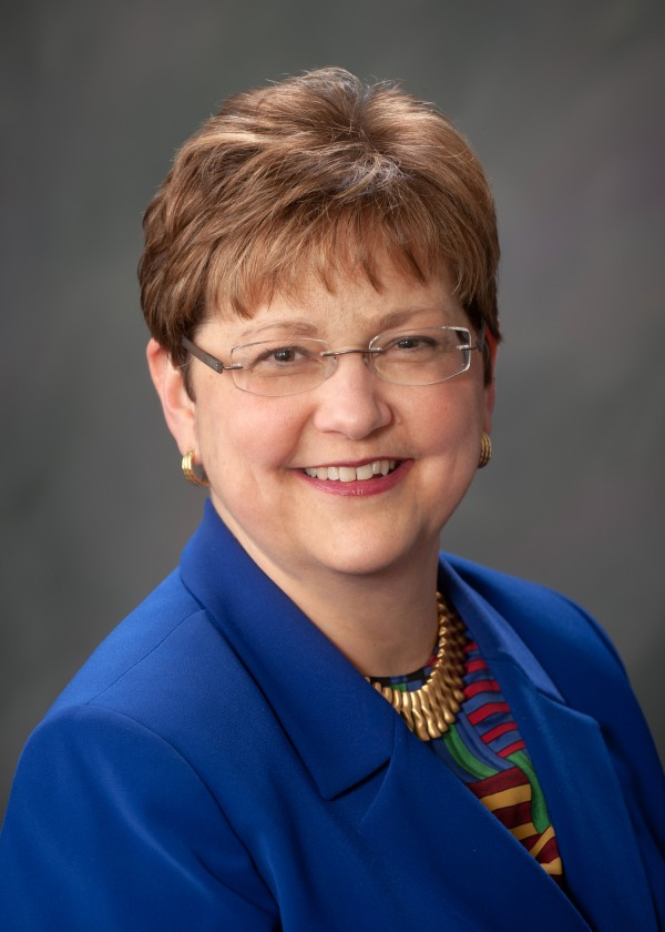 Mary Prybylo, president and CEO of St. Joseph Healthcare