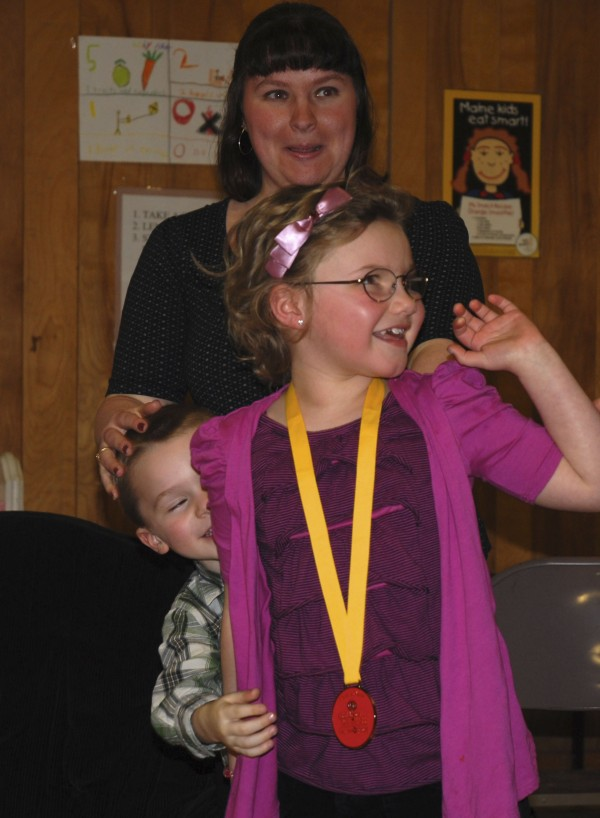 The Children's Miracle Network has named Kylie Pelletier of Frencvhille the 2012  Maine Champion.