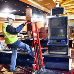 Oxford Casino installs first video slot machines