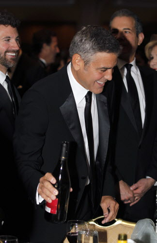 George Clooney attends the White House Correspondents' Association Dinner headlined by late-night comic Jimmy Kimmel.