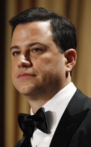 Late-night comic Jimmy Kimmel headlines the White House Correspondents' Association Dinner.