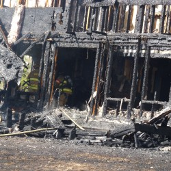 Cause of Topsham rail car fire remains undetermined